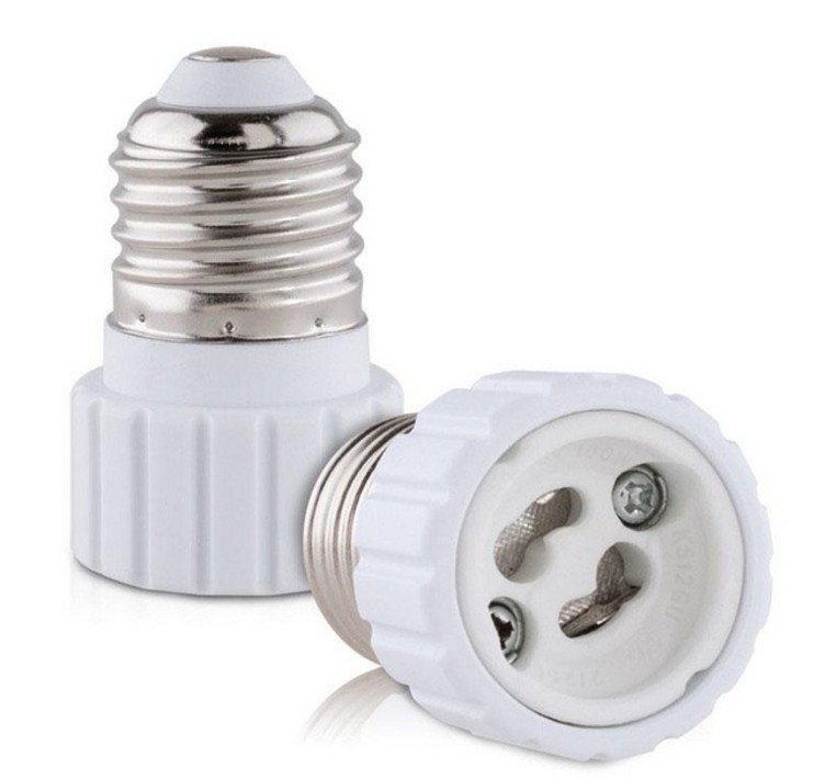 E27 to GU10 light bulb socket adapter lamp holder