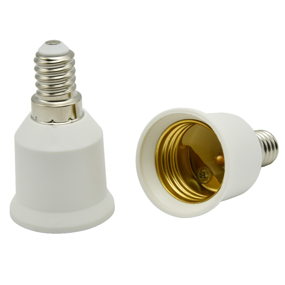 E14 to E27 adapter type bulb converter