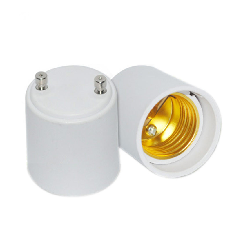 plastic GU24 to E27 lamp adapter holder