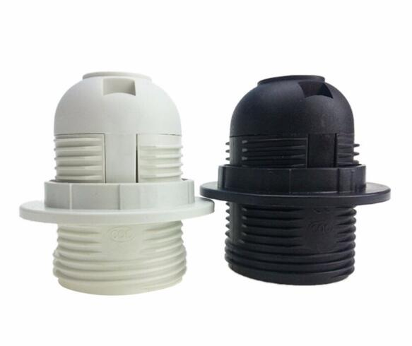 E27 Plastic full thread adapter