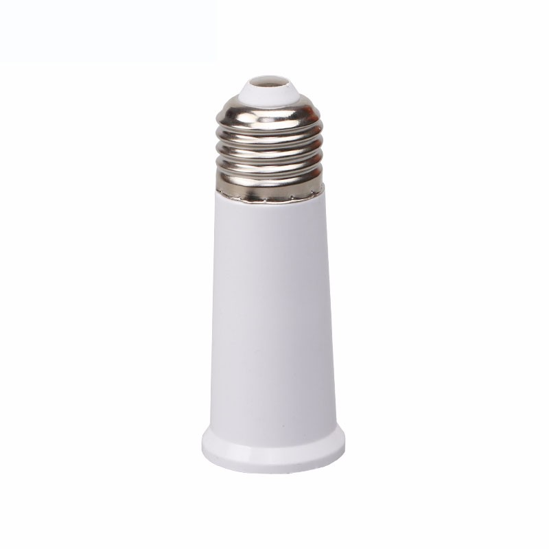 E27 to E27 95mm extension base adapter socket