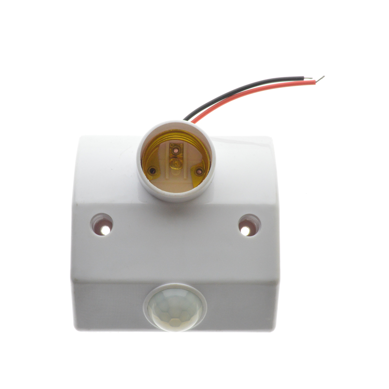 E27 PIR Motion Sensor socket