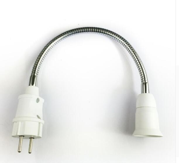 Germany plug to E27 lamp holder