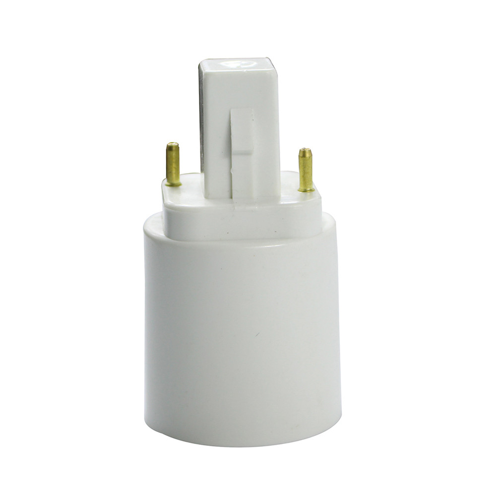 Hot G24 2pin/4pin to E27 adapter G24 to E27 adapter