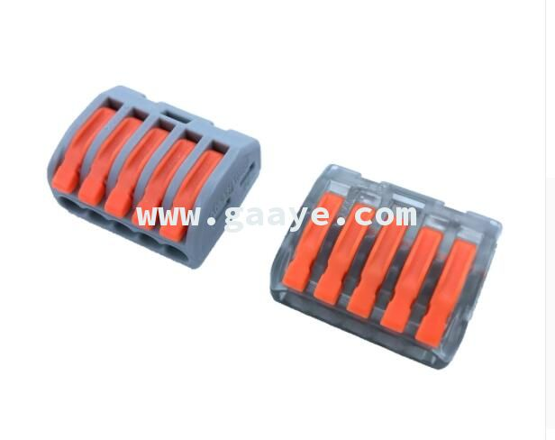 5 Way Electric Cable Wire Connectors