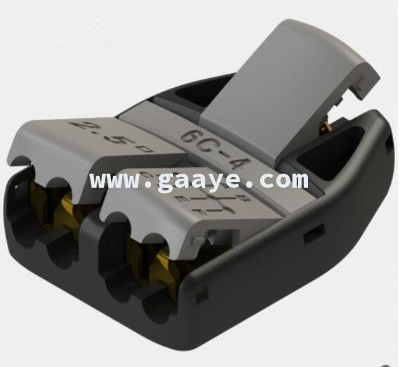 Push type terminal block 6C-4 connector