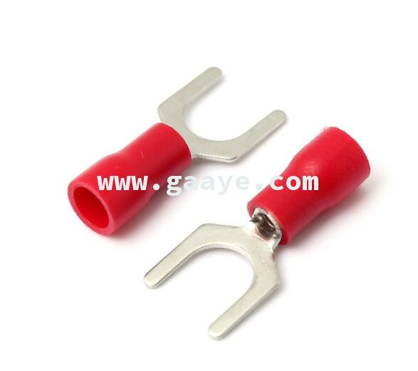 U type Red Insulated Fork Wire Connector