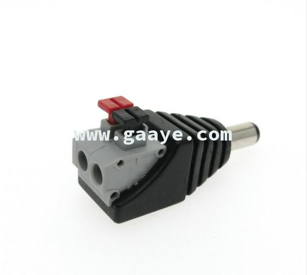 Male DC connector 5.5*2.1mm connector