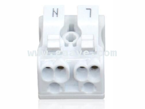 2 hole connector press type