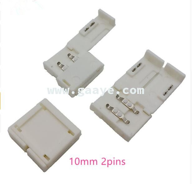 2 pin 8mm/10mm led connector for 2811/5050/3528/2835/5630