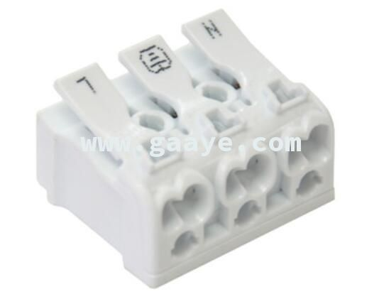 Thread terminal block 3 hole connector
