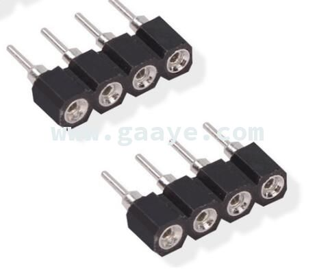 4 pin needle male to female type 4pin DIY small part for LED RGB 3528 and 5050 strip