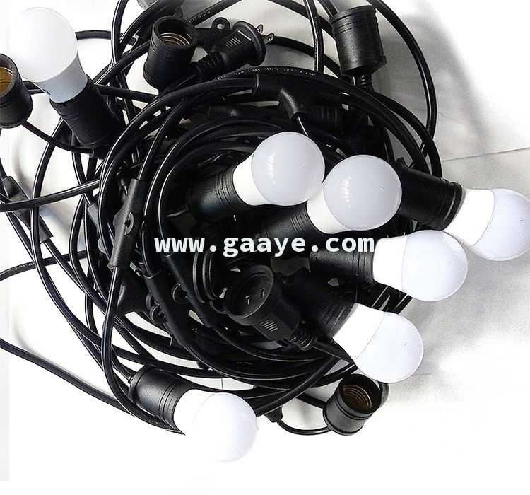 Christmas led Bulb Light E26 E27 S14 Hanging Sockets Holiday Weatherproof outdoor Commercial String Lights