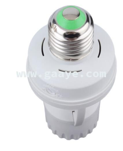 360 Degrees PIR Induction Motion Sensor IR infrared Human E27 Plug Socket Switch Base Led Bulb light Lamp Holder