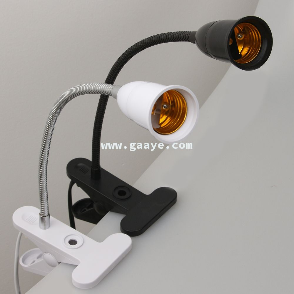 High Quality E27 Lamp Holder With Clamp with 1.8M Switch power cable with EU/US Plug