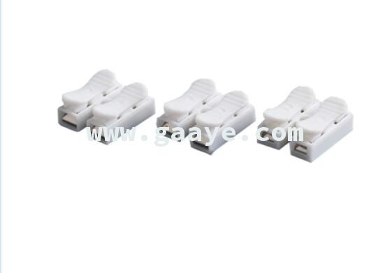 Spring Clamp Cable 2 Pin LED Strip Wire Connector