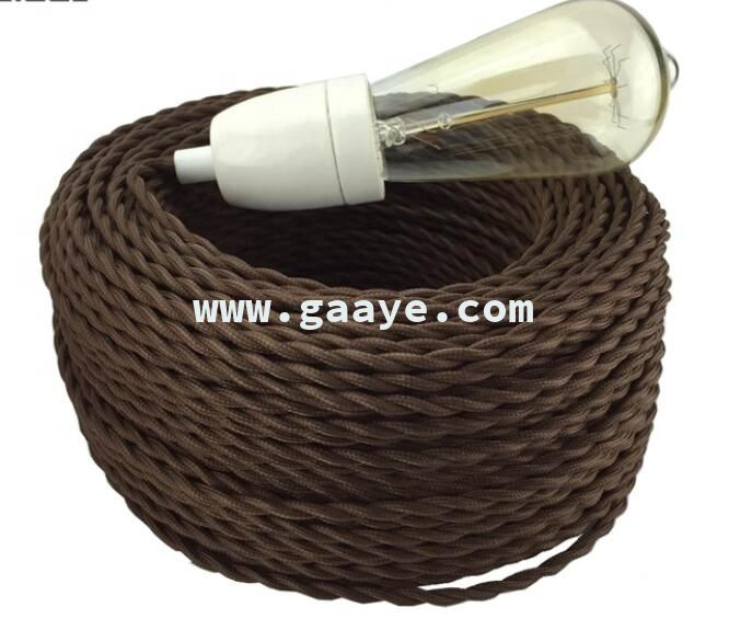 Electrical Wire Cable Power Wire Cotton Twisted Fabric Wires