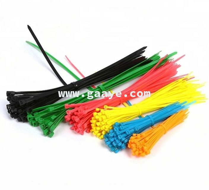Plastic Self-Locking Eco-Friendly Nylon Cable Ties Price Tie Wrap /Zip Ties Size / Electric Wiring Reusable Cable