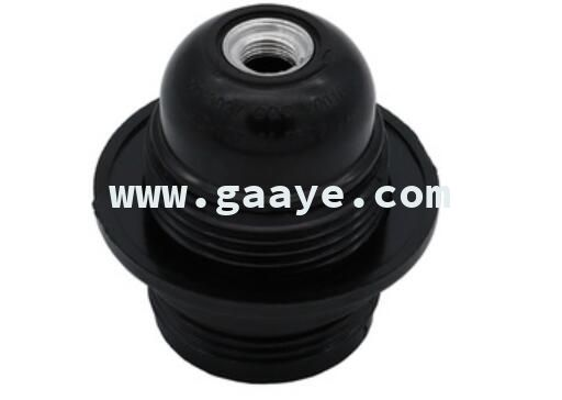 E27 Set-screw terminal bakelite material lamp socket