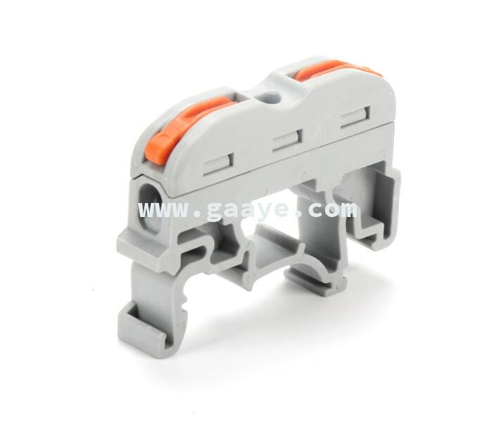 PCT 211 din rail Push wire terminal block connection electrical Connector