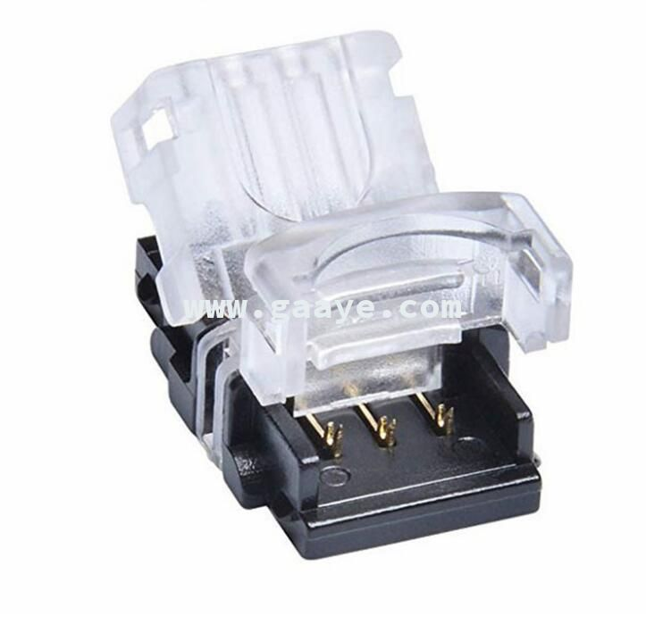 IP65 3 Pin Connector Waterproof Solderless Connector for Dual Color LED Strip