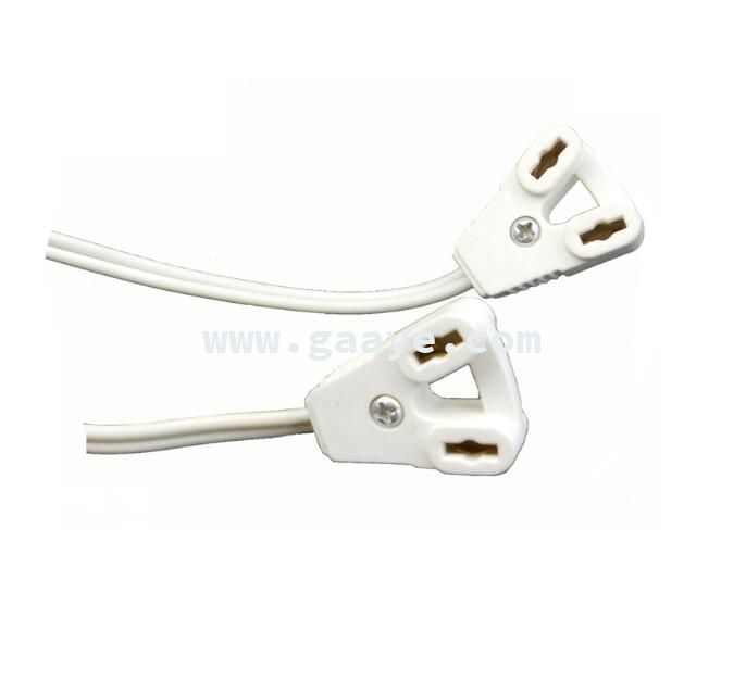 G13 t8 lamp holder socket with cable