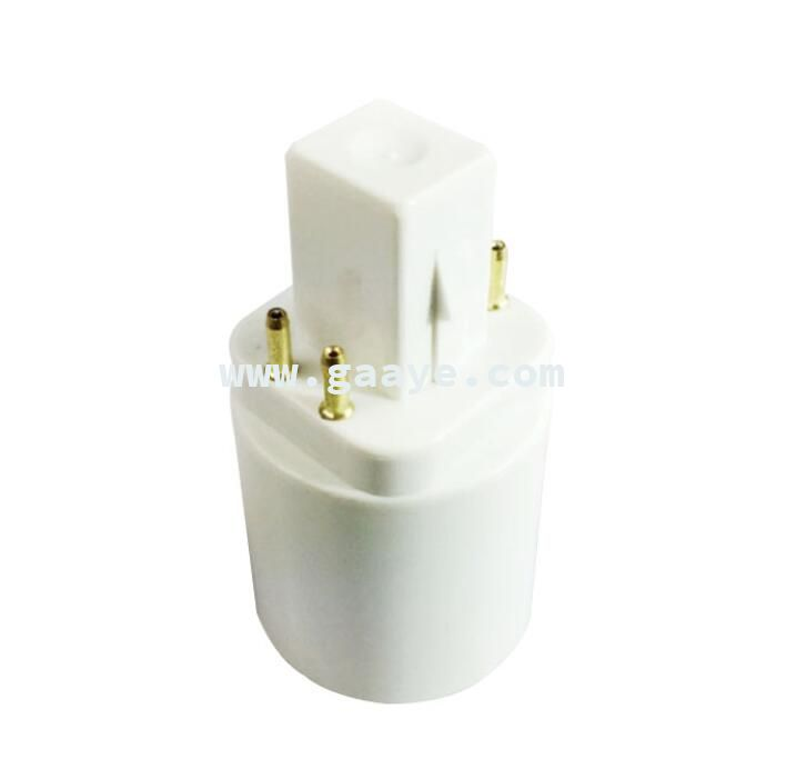 G24q to E27 Adapter Bulb Socket G24q Lamp Holder 4-pin