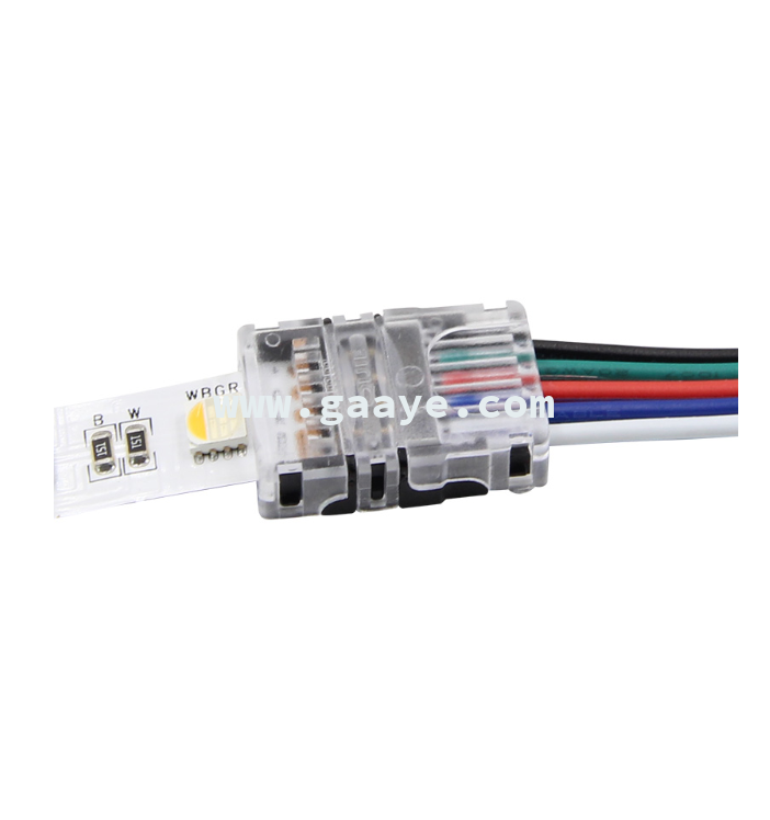 5050 RGBW led strips light quick cable connector