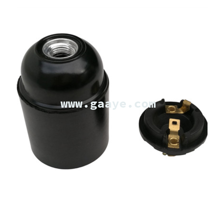 Hiqh quality E27 lamp cap for Russia and Ukraine