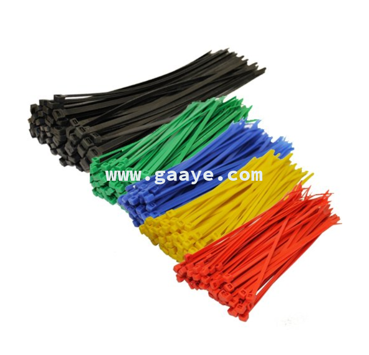 High Quality Nylon 66 Colorful Plastic Self Locking flexible Cable Tie uk