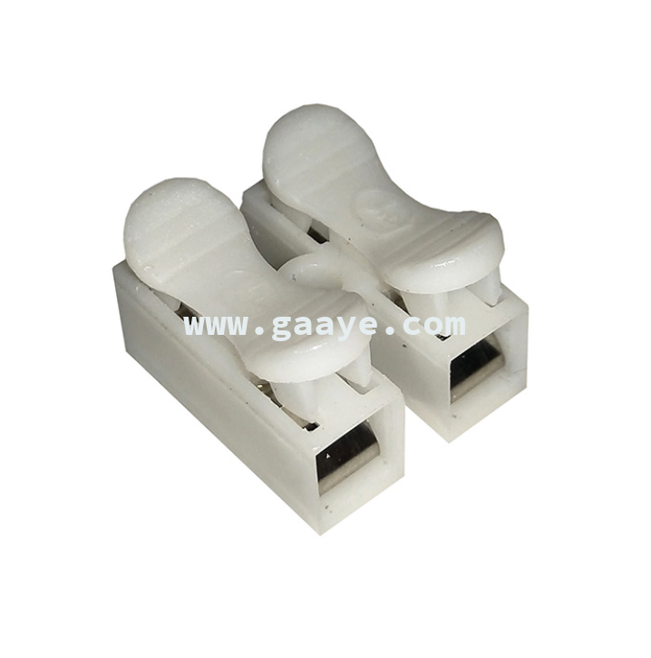 Mini Electrical Crimp Terminals connector Block Splice Cable Clamp CH-2