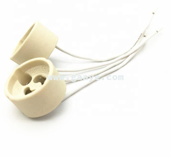 Hot Sale halogen GU10 lampholder / Gz10 lamp holder socket for LED bulbs