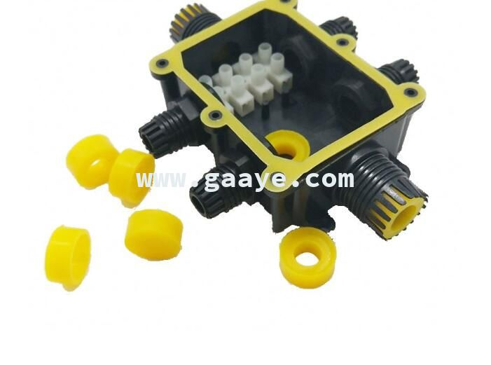 3-6 holders 4-15mm cable ip68 waterproof junction box outdoor electrical cable connector box