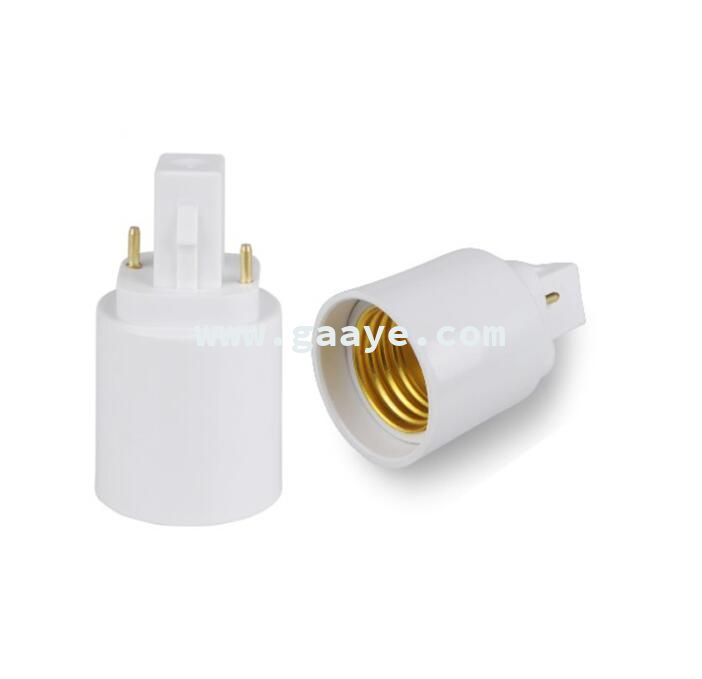 G24 to E27 Adapter 220V Replacement Copper Lamp Socket