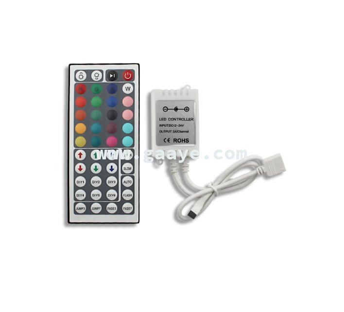 DC12V 6A 44 Keys LED IR RGB Led Controller For RGB 3528 5050 LED Strip