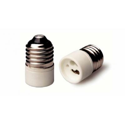 E27 porcelain lampholder to GU10 lamp holder adapter