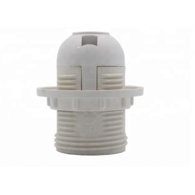 E27 White Black plastic E27 Light Socket ,Bulb holder,led plug light kit e27 lamp holder