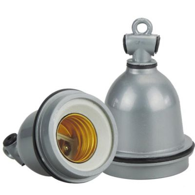 water proof heat resistant ceramic lamp sockets e27 lamp holder for farm