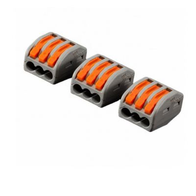 3 Pin Terminal Block Connector 3Pin Spring Terminal Blocks Electric Cable Terminals
