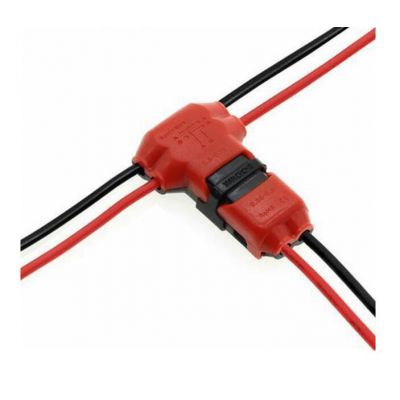 Wire Electrical Terminal Red Insulated Quick Splice Terminals Crimp For Car Cable Snap