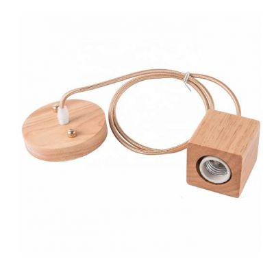 Lamp accessories,Plug and socket,Wooden Lamp Holder