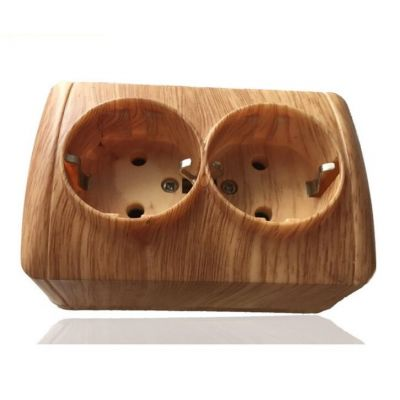 Lamp accessories,Wooden Lamp Holder